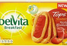 Mondelez International, Belvita Tops, breakfast,