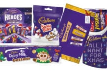 Mondelez has unveiled a raft of new products and old favourites for Christmas 2017.