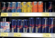Red Bull various sizes
