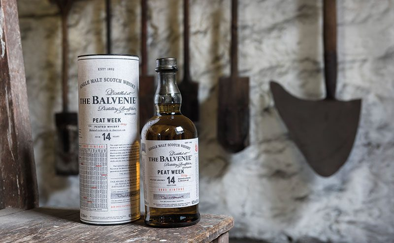 The Balvenie Peat Week is another new release unveiled in time for Christmas.