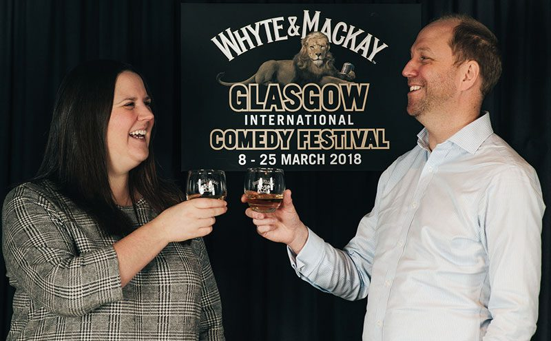 Whyte & Mackay sponsoring Glasgow International Comedy Festival
