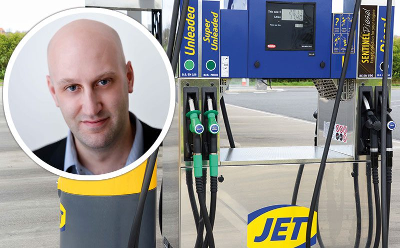Paul Yates of Jet reckons there is demand among consumers for premium fuel.