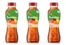 Launched in the UK this year, Fuze Tea from CCEP is already available in 40 other markets.