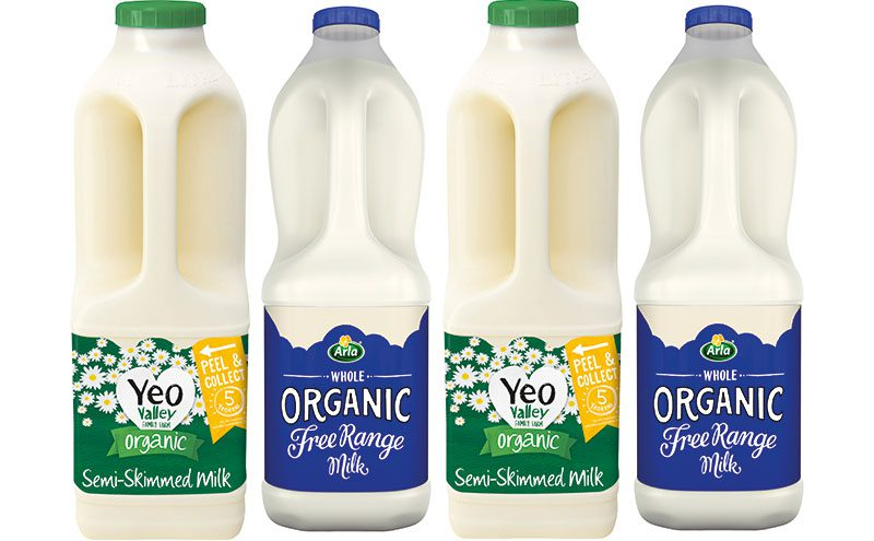 Yeo Semi Skimmed and organic 2l