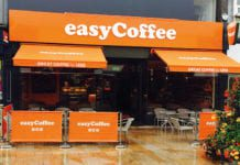 easyCoffee Burnley shop