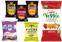 Max Strong is the latest NPD from Walkers, aimed at attracting beer lovers with spicy flavours. Meanwhile, Pipers Crisps Jalepeno & Dill and Sunbites Veggie Harvest are both new products for 2018.