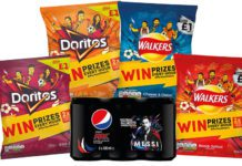 Pepsico range - soft drinks and crisps