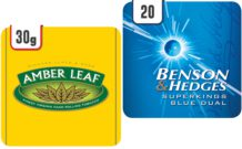 JTI Amber Leaf and Benson and Hedges