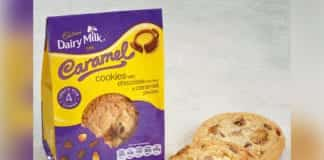 Cadbury Dairy Milk Caramel Cookie