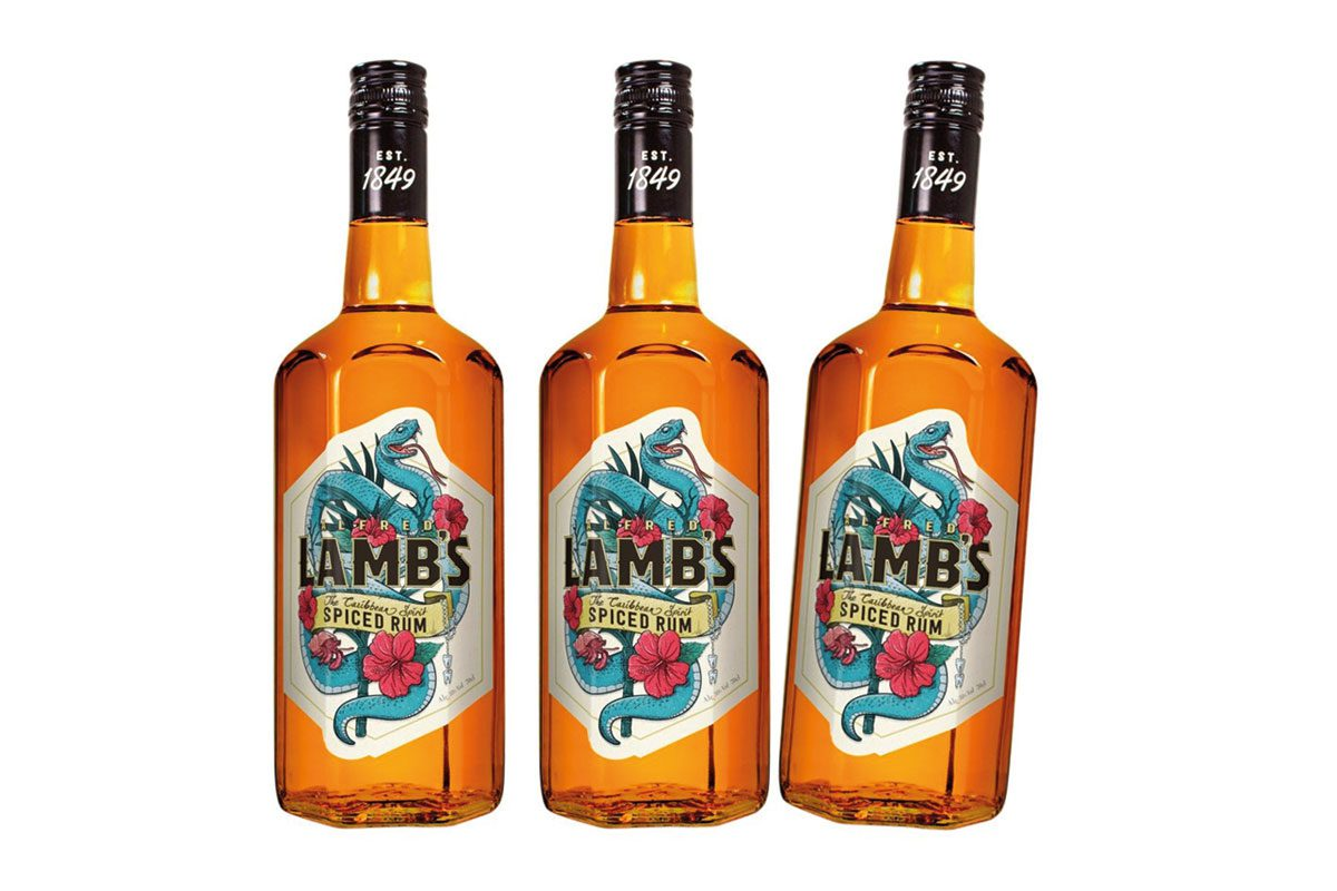 Lambs Navy spiced rum