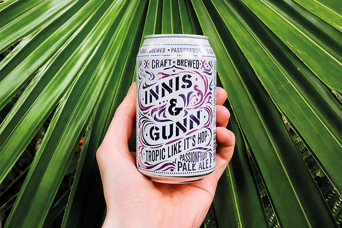 Innis and Gunn tropic like it's hot can