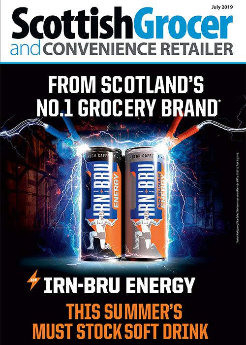 Scottish Grocer front cover July 2019