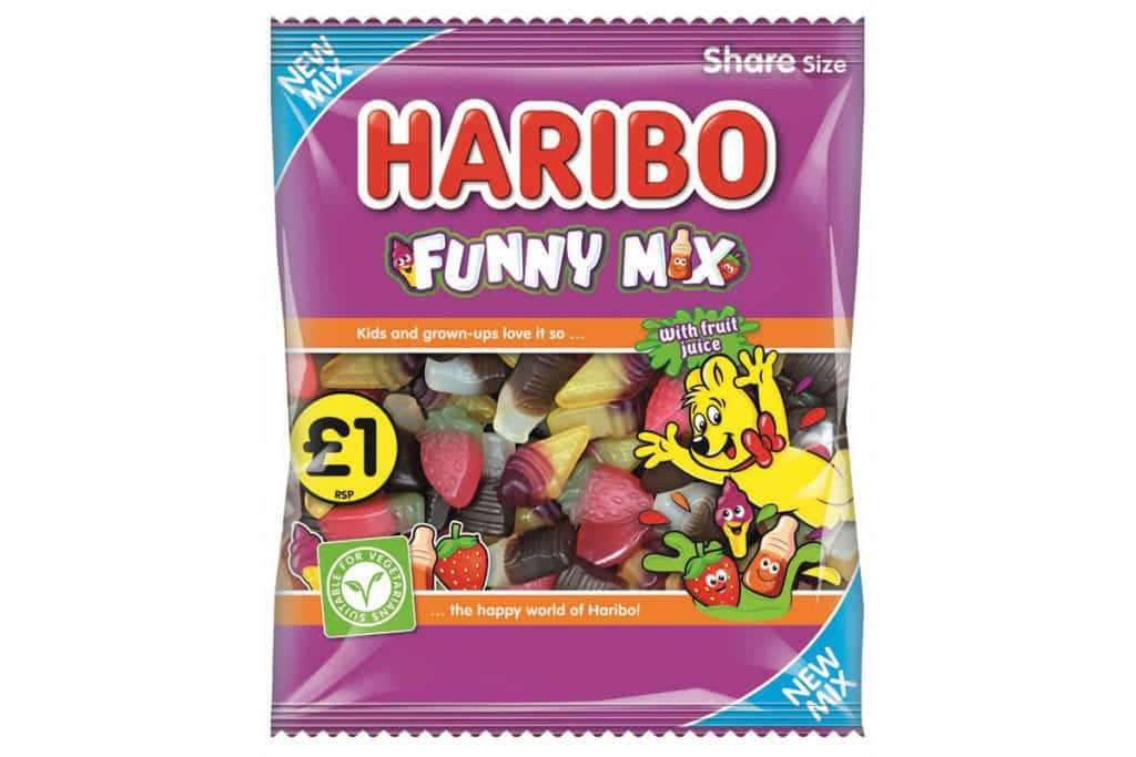 Haribo vegeterian confectinery