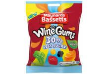 Maynard Bassetts wine gums reduced sugar