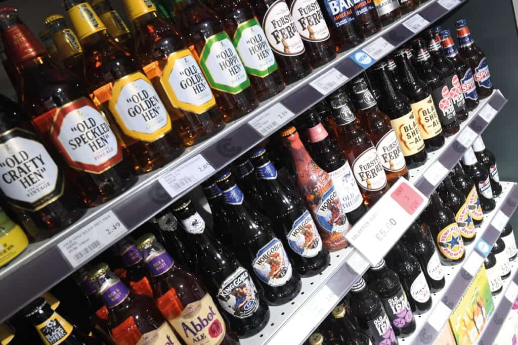 Costcutter beers and ciders