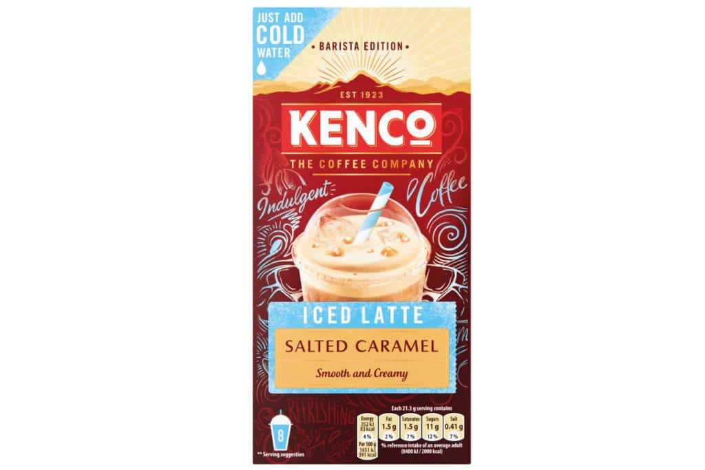 Kenco iced latte