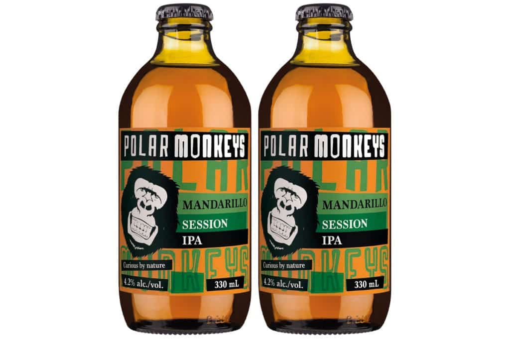 Polar Monkeys Mandarillo IPA