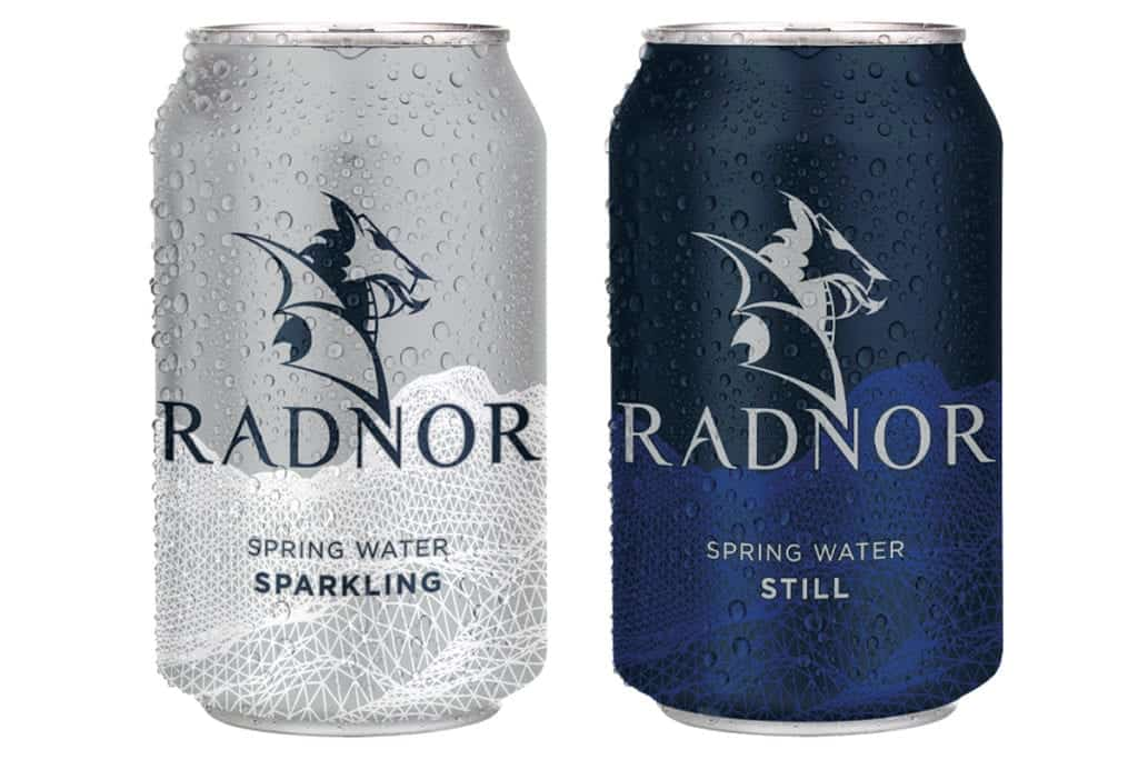Radnor water cans
