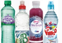 sparkling flavoured low and no sugar drinks