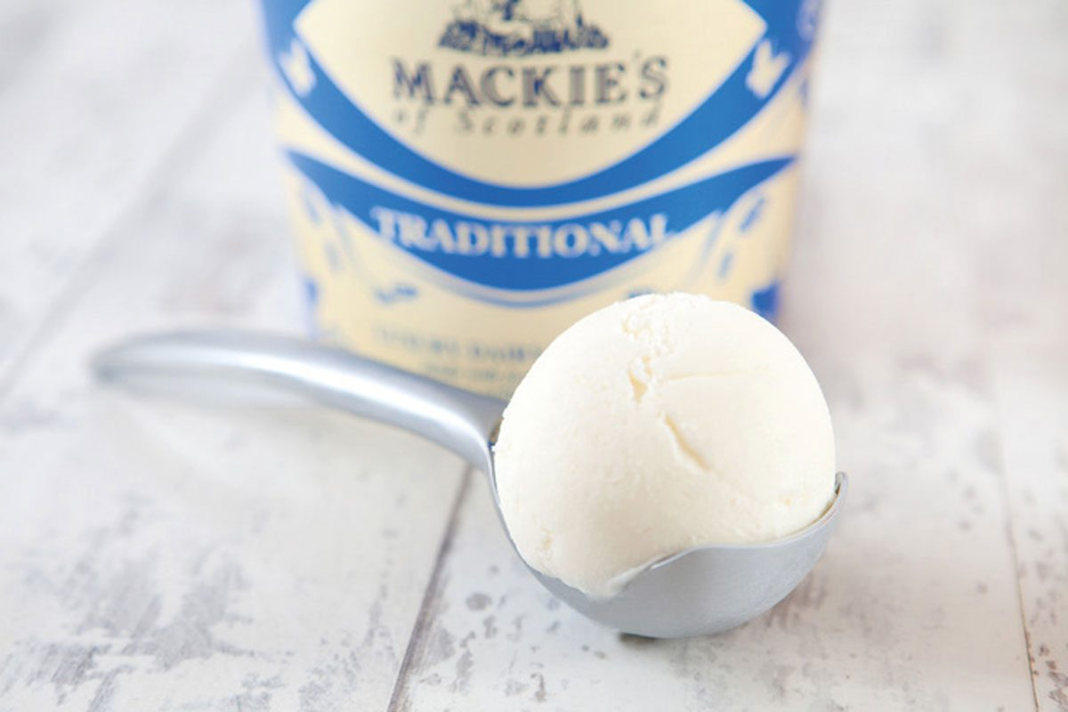 Mackie's Traditional Real Dairy Ice Cream