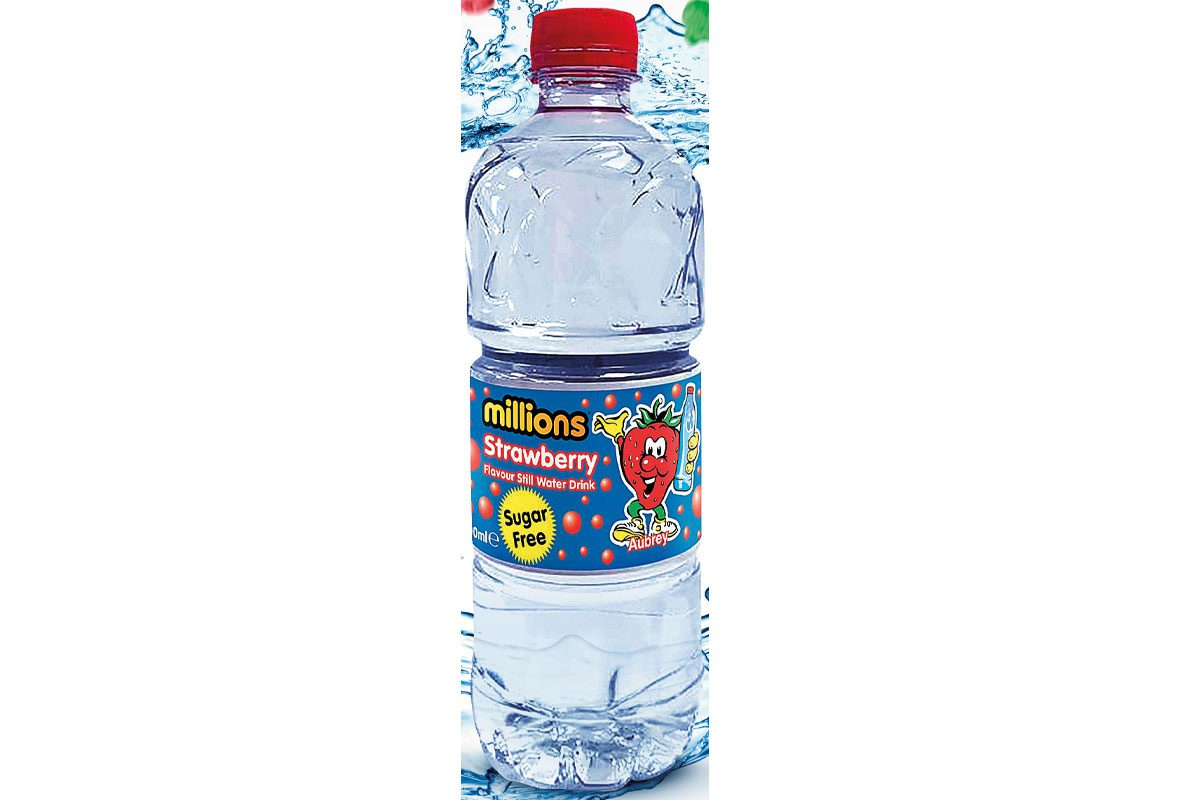 Millions flavoured water