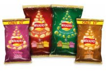 Walkers Christmas crisps