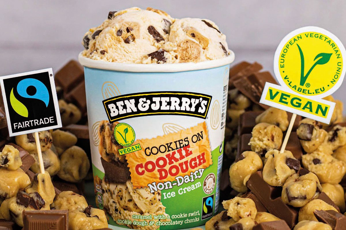 Ben & Jerry's cookie dough non dairy