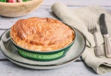 Fray Bentos cheese and onion pie