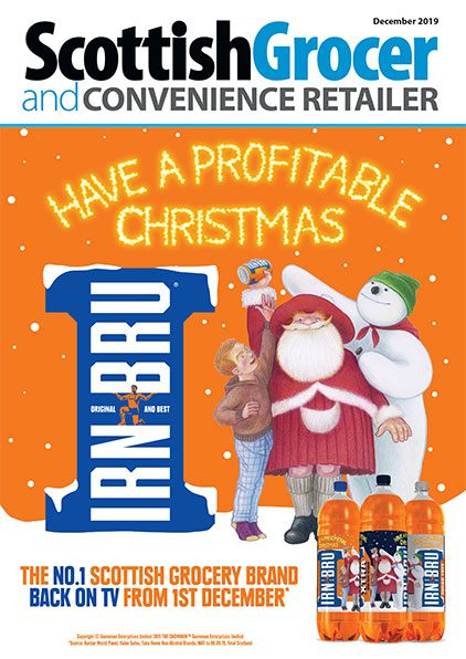 Scottish Grocer front cover December 2019