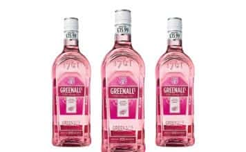 Greenall's Wild Berry Pink Gin in a PMP marked £15.99.