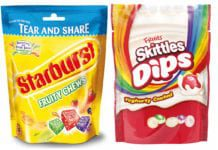 Starburst & Skittles new products