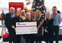 Certas christmas cheque