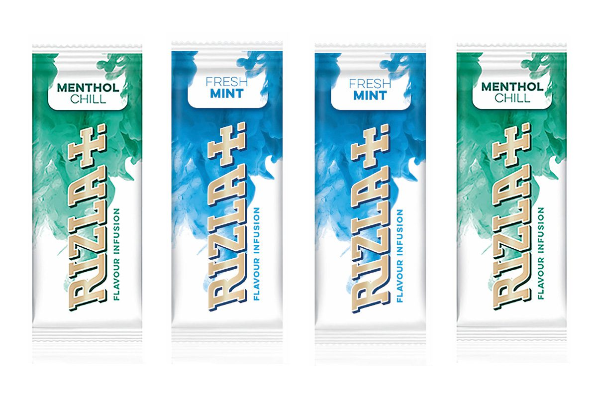 Rizla Flavours Infusions in Menthol Chill and Mint