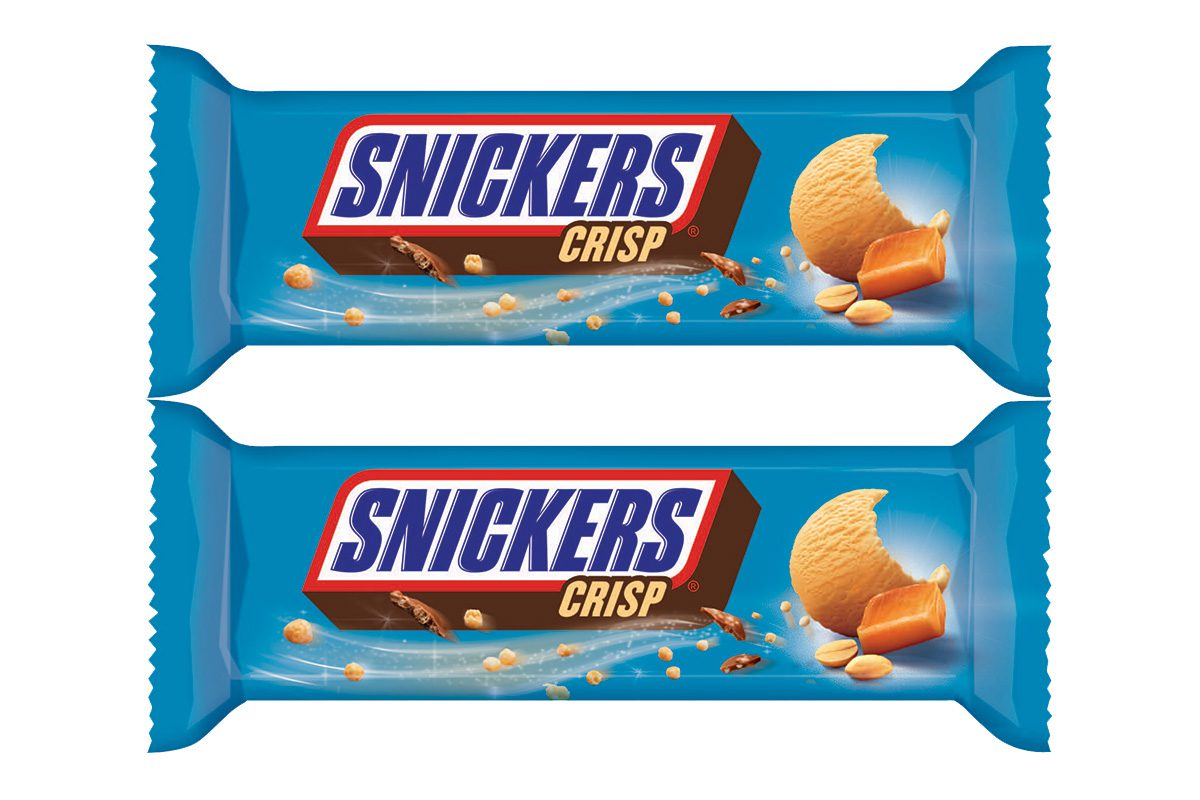 The new Snickers Crisp ice cream bar will be subject to a major media spend.
