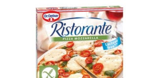Dr Oetker lactose free pizza