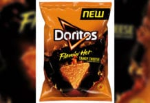 Doritos Flaming Hot Cheese Packet