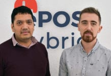 Bhas Kalangi and Andrew Gibbon of start-up ePOS Hybrid