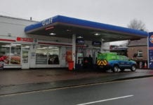 Spar and Gulf branded c-store forecourt Crieff Hydro