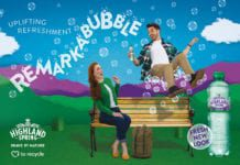 Highland-spring--REMARKABUBBLE-campaign