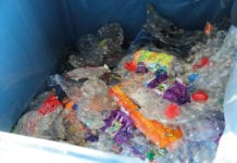 bin full of plastic