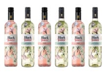 Black Tower Rose and Fruity White variants