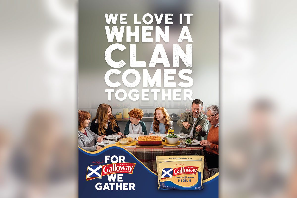 We love it when a clan comes together - Galloway advert