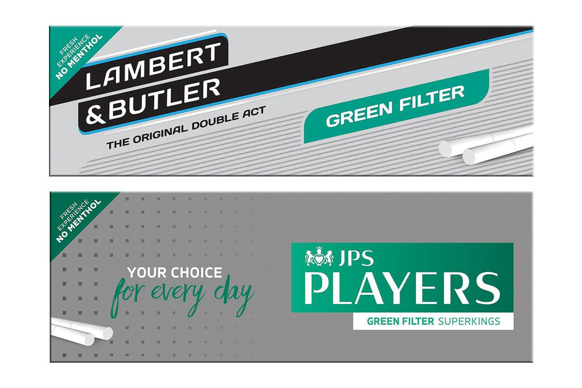 Imperial Tobacco Green Filter variants