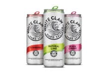 White Claw Hard Seltzer range