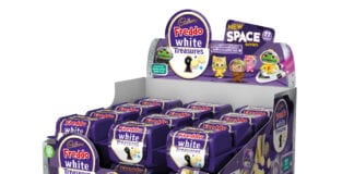 cadbury white treasures