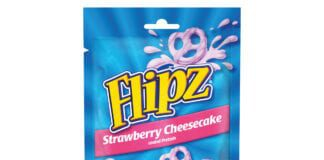 flipz pretzels strawberry cheesecake