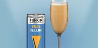 Funkin peach cocktail