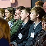 An interested workshop audience at the last WWEM.