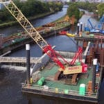 The scheme will use moveable weirs, a UK first.