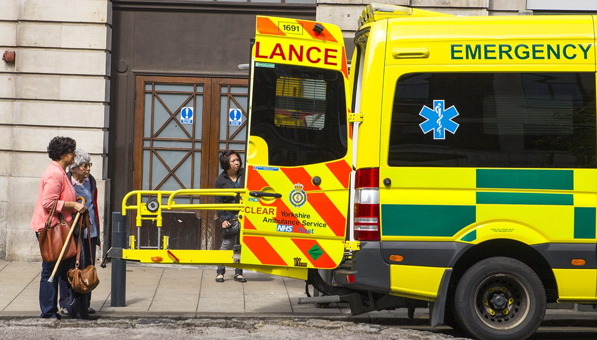 ambulance in Leeds